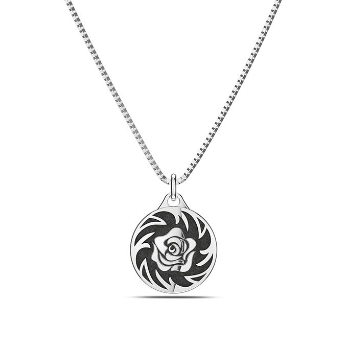 UFC Rose Namajunas Pendant in Sterling Silver
