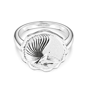 UFC Henry Cejudo Women's Ring in Sterling Silver
