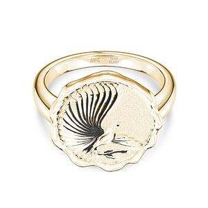 UFC Henry Cejudo Women's Ring in 14K Yellow Gold