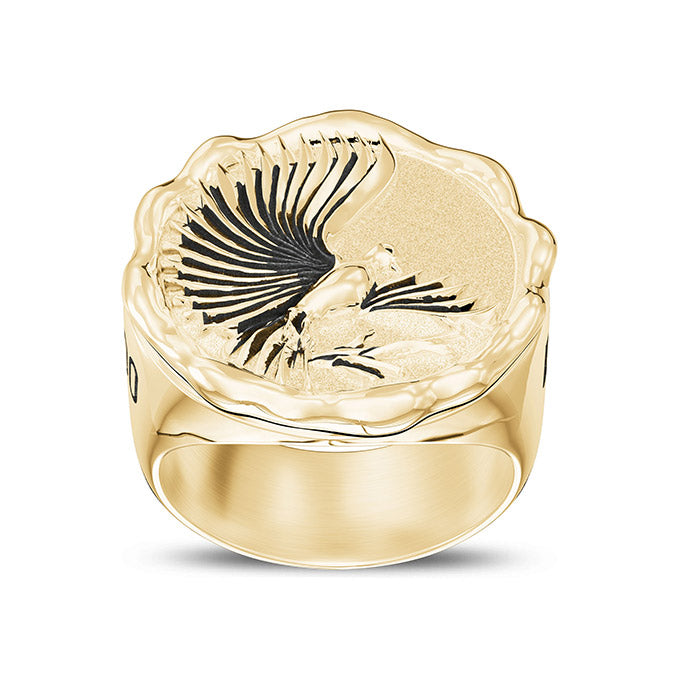 UFC Henry Cejudo Men's Ring in 14K Yellow Gold
