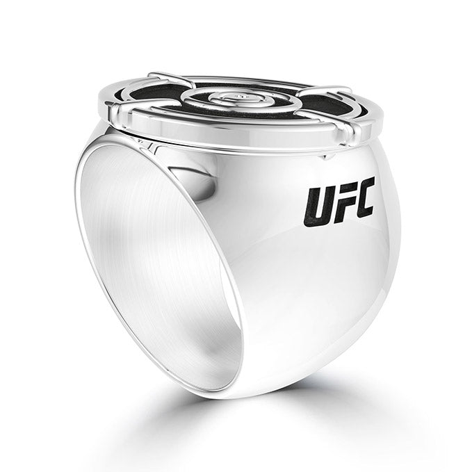 UFC Valentina Shevchenko Men's Ring in Sterling Silver