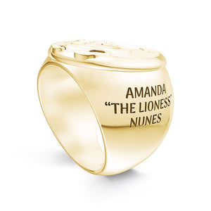UFC Amanda Nunes Men's Ring