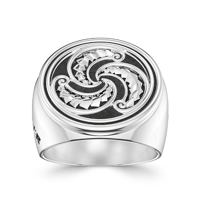 UFC Robert Whittaker Large Ring in Sterling Silver
