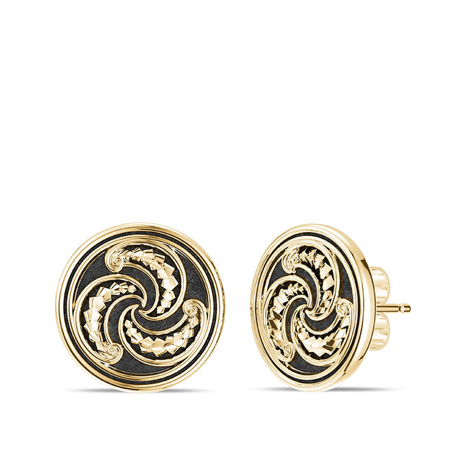 UFC Robert Whittaker Earrings in 14K Yellow Gold