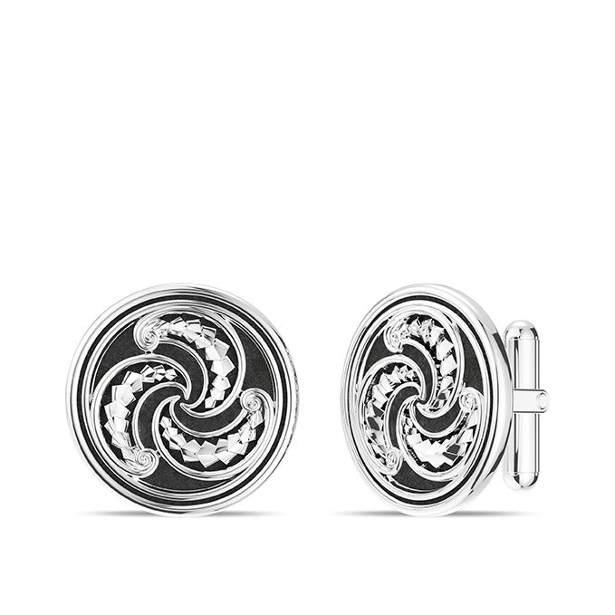 UFC Robert Whittaker Cuff Links in Sterling Silver