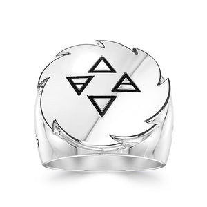 UFC Israel Adesanya Large Ring in Sterling Silver