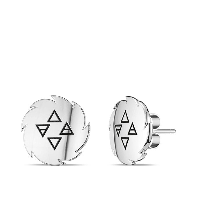 UFC Israel Adesanya Earrings in Sterling Silver