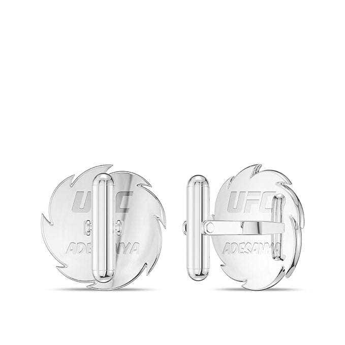 UFC Israel Adesanya Cuff Links in Sterling Silver
