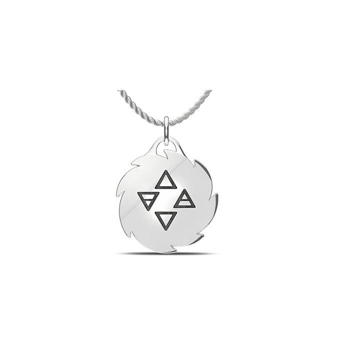 UFC Israel Adesanya Large Pendant in Sterling Silver