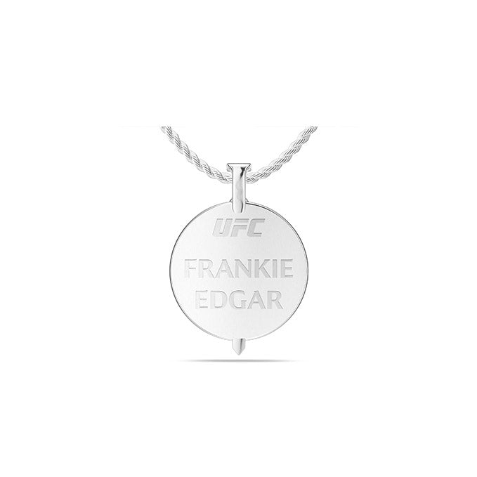 UFC Frankie Edgar Large Pendant in Sterling Silver