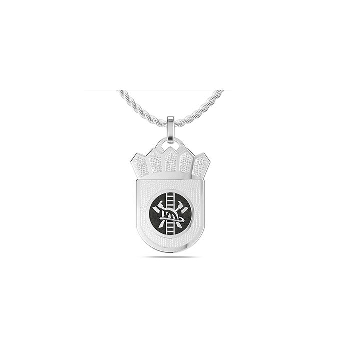 UFC Stipe Miocic Large Pendant in Sterling Silver