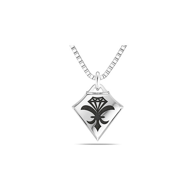 UFC Dustin Poirier Small Pendant in Sterling Silver