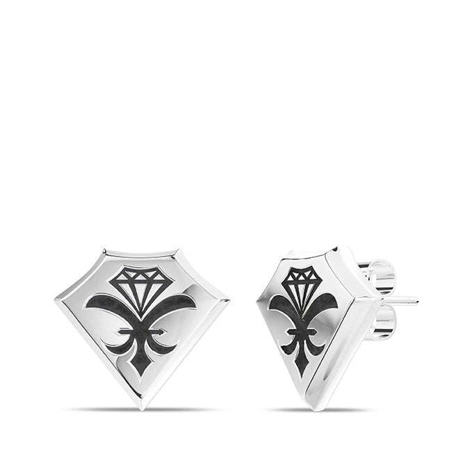 UFC Dustin Poirier Earring in Sterling Silver