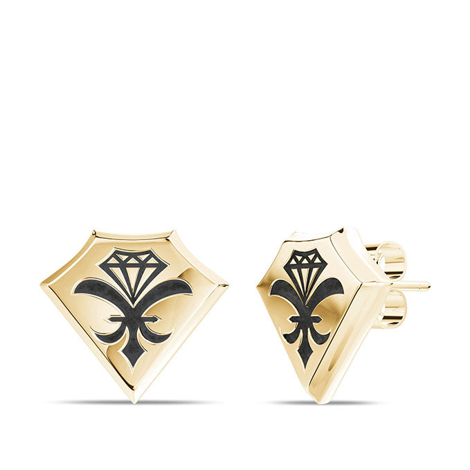 UFC Dustin Poirier Earring in 14K Yellow Gold