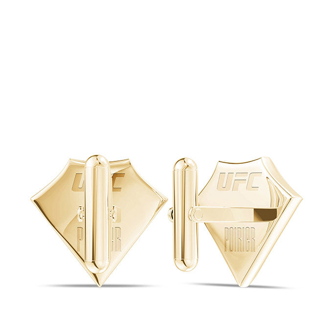 UFC Dustin Poirier Cuff Link 14K Yellow Gold