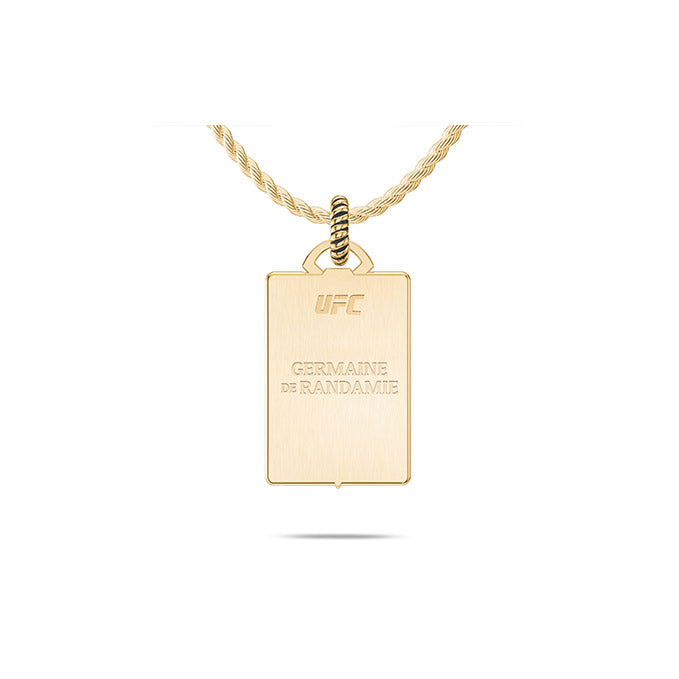 UFC Germaine de Randamie Small Pendant