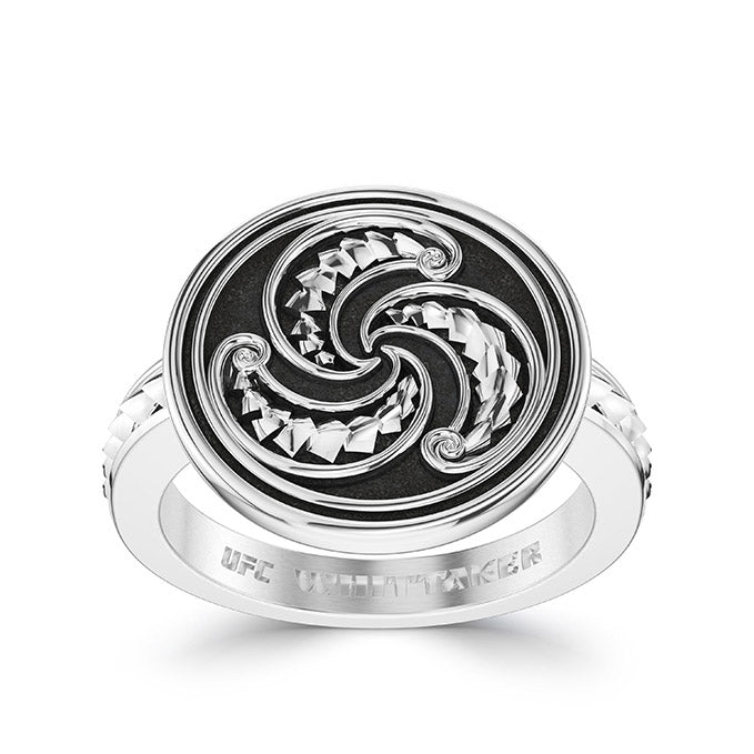 UFC Robert Whittaker Small Ring in Sterling Silver