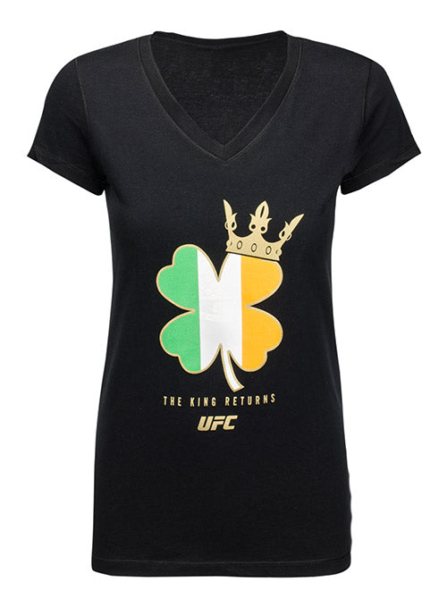 Women's UFC Conor McGregor Clover T-Shirt