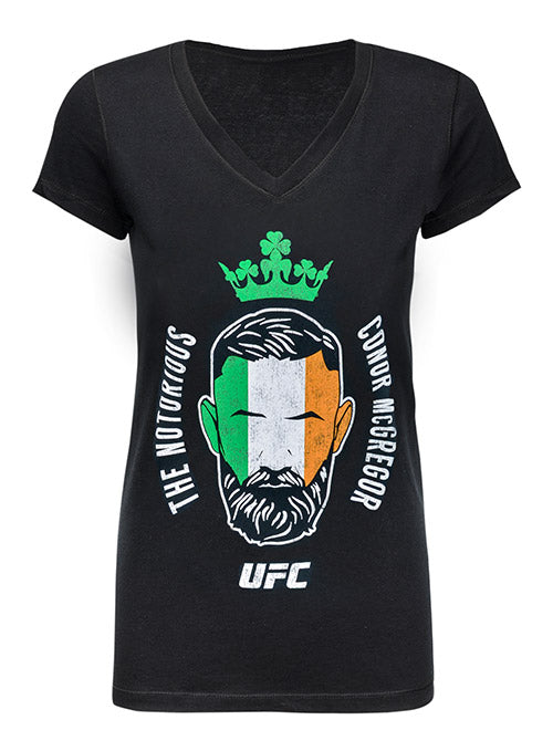 Women's UFC Conor McGregor Flag T-Shirt
