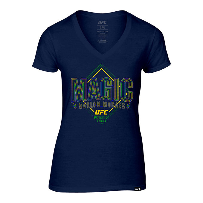 "Women's Marlon ""Magic"" Moraes Graphic T-Shirt - Navy"