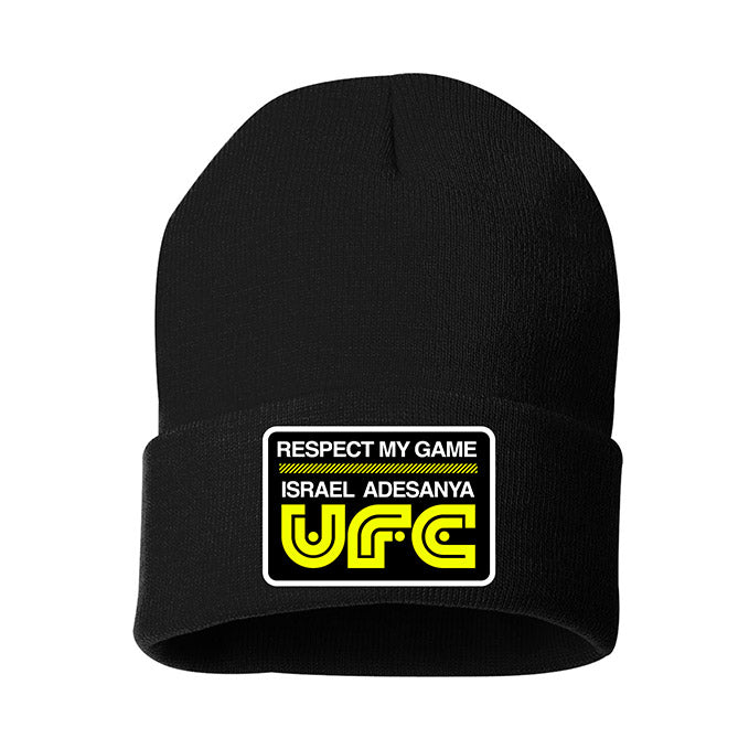 UFC Israel Adesayna Respect Collection Beanie - Black