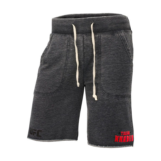 UFC Reebok Team Khabib Fleece Shorts - Grey Heather