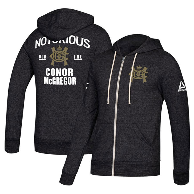 UFC Team Conor Soft Fleece Full Zip Hoodie