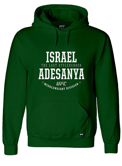 "Israel ""The Last Style Bender"" Adesanya Graphic UFC Hoodie"