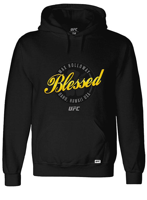 "Max ""Blessed"" Holloway Script UFC Hoodie"
