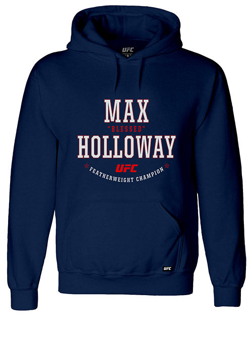 "Max ""Blessed"" Holloway Solid Graphic UFC Hoodie"