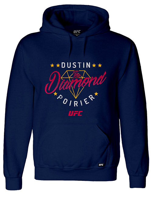 "Dustin ""The Diamond"" Poirier Script UFC Hoodie"