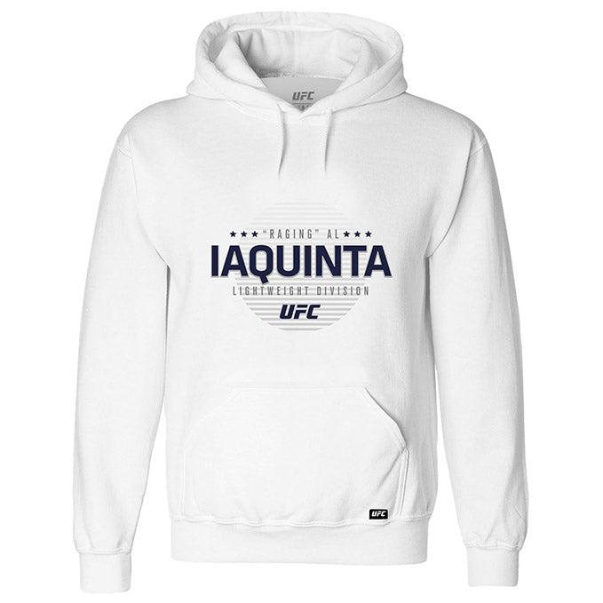 "Men's UFC ""Raging"" Al Iaquinta Graphic Hoodie - White"