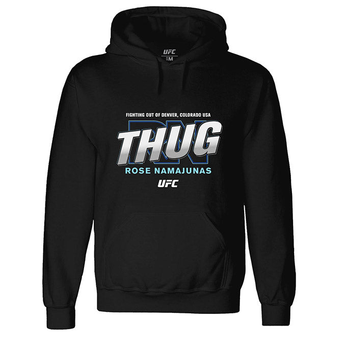 "UFC Men's Rose ""Thug"" Namajunas Graphic Hoodie - Black"