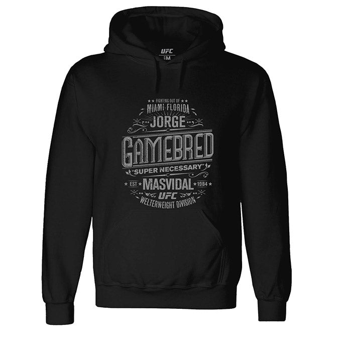 "UFC 244 Jorge ""Gamebred"" Masvidal Super Necessary Graphic Hoodie -  Black"