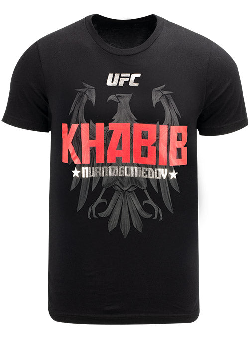 UFC Khabib Nurmagomedov Red Eagle T-Shirt with Foil