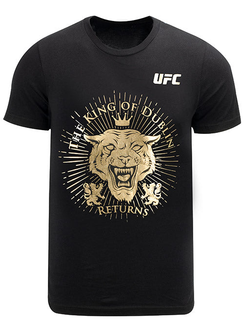UFC Conor McGregor Reign of Dublin T-Shirt with Foil
