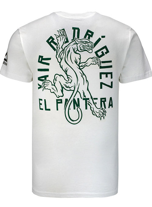 Reebok Yair Rodríguez White UFC Spirit Animal T-Shirt
