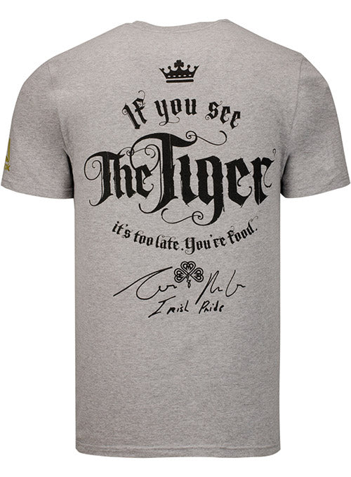 UFC Conor McGregor Tiger Face T-Shirt