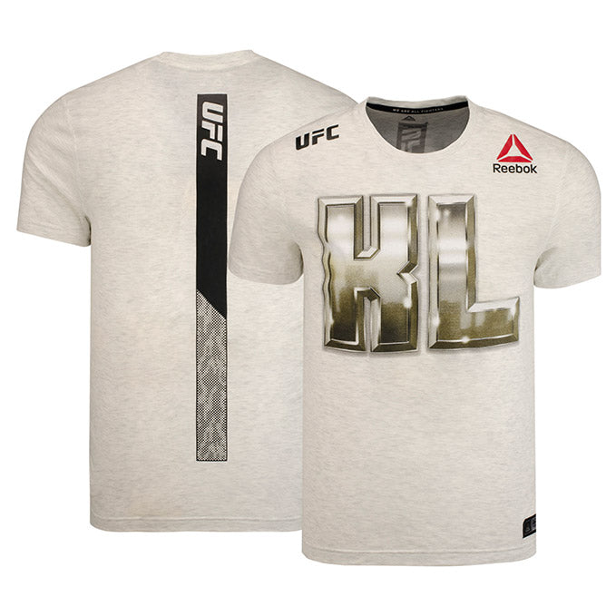 Men's Reebok Kevin Lee Chalk Authentic UFC 216 Legacy Series Walkout Jersey