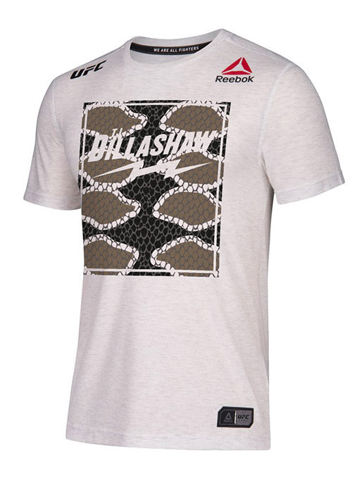 Men's Reebok TJ Dillashaw Chalk Authentic UFC 217 Legacy Series Walkout Jersey