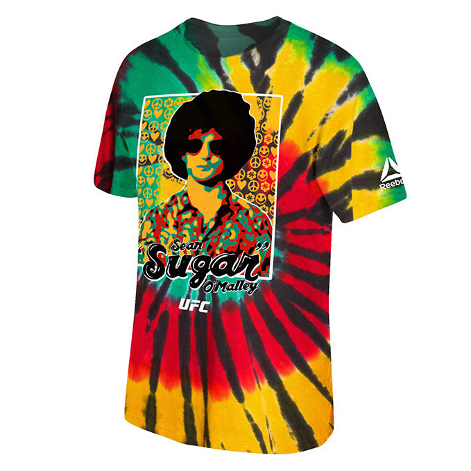 UFC Reebok Sugar Sean O'Malley Tie Dye T-Shirt