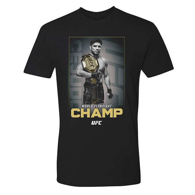Men's UFC Henry Cejudo Champ T-Shirt - Black
