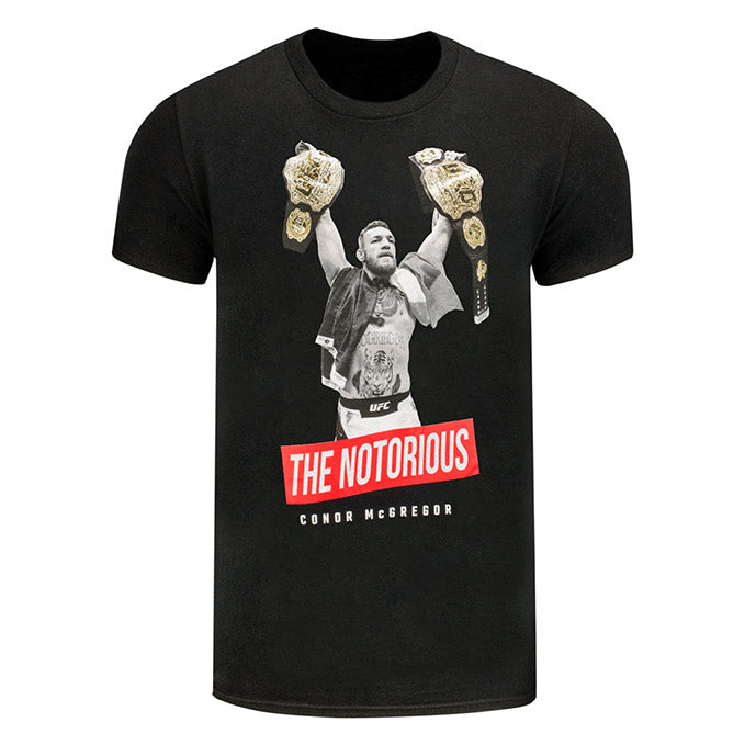 UFC Conor McGregor 2 Champion T-Shirt