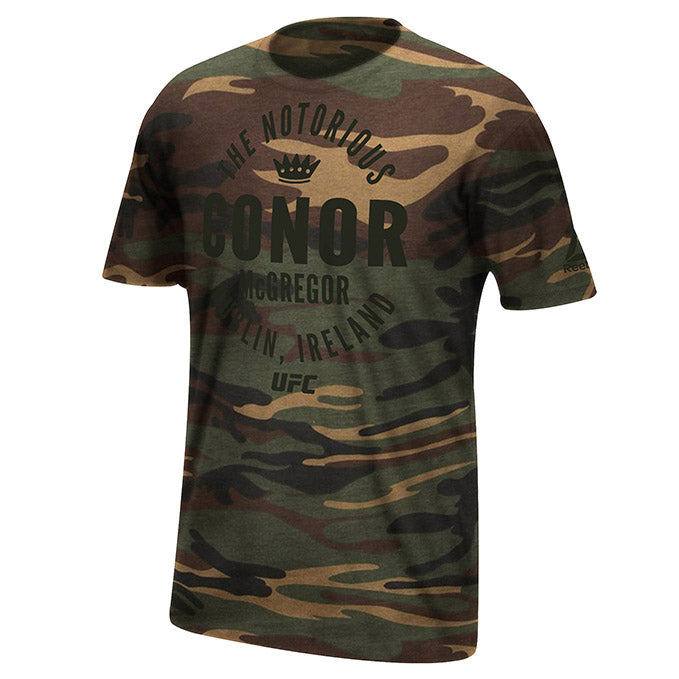 UFC Reebok Conor McGregor Gym Rat T-Shirt
