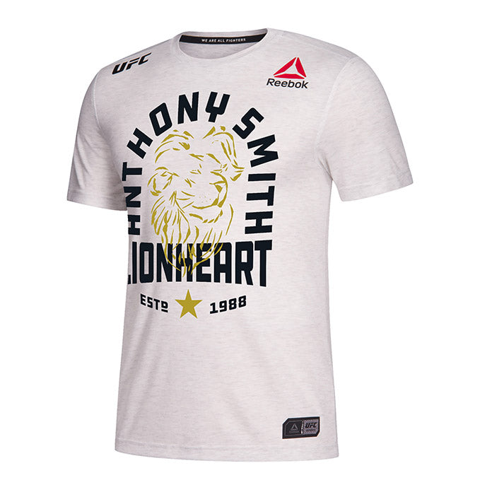 Men's Reebok Anthony Smith  Chalk Authentic UFC 235 Legacy Series Walkout Jersey