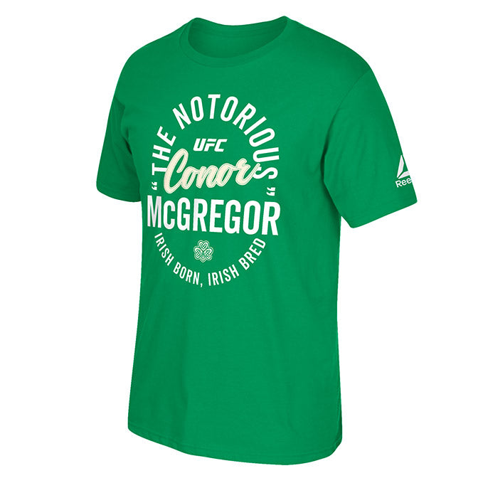 Reebok UFC McGregor Irish Bred T-Shirt