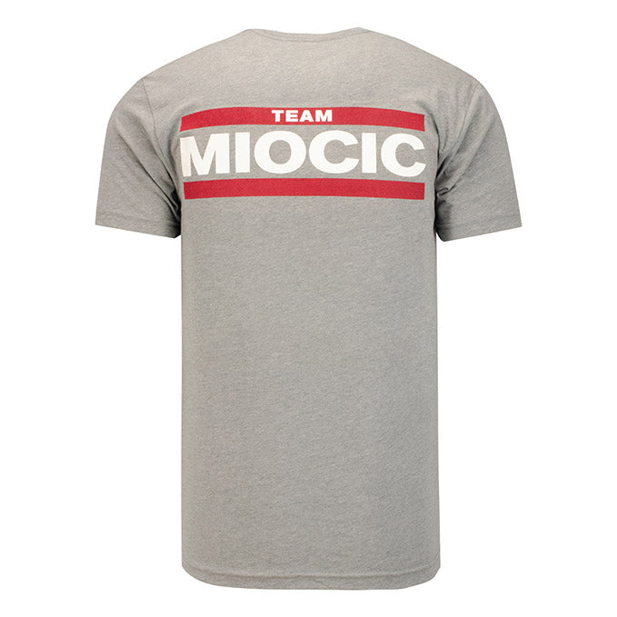 UFC Reebok Team Miocic Men's T-Shirt - Grey