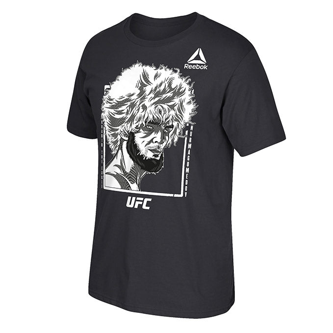 UFC Men's Reebok Khabib Portrait T-Shirt