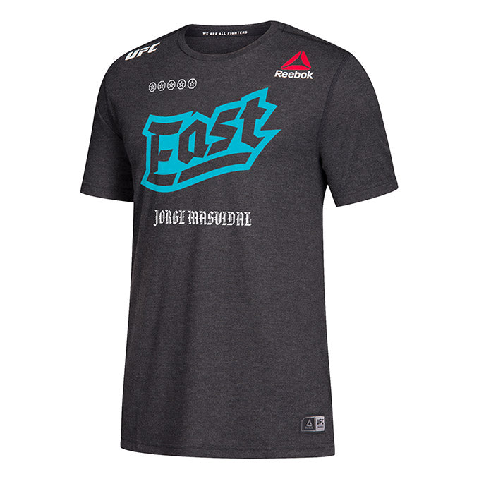 Men's Reebok Jorge Masvidal Black Authentic UFC 244 Legacy Walkout Jersey