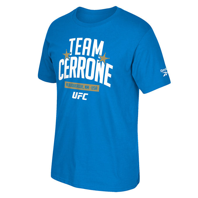 UFC 246 Team Donald Cerrone Camp Short Sleeve Crew T-Shirt  - Royal